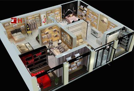 家纺专卖店店面空间布局的有关知识