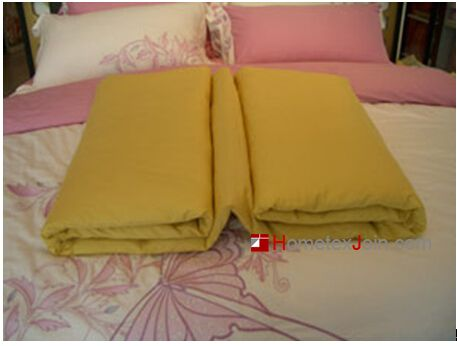 家纺店铺床品四件套陈列标准及折叠方法